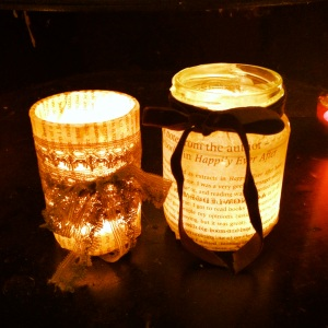 Romantic candle holders