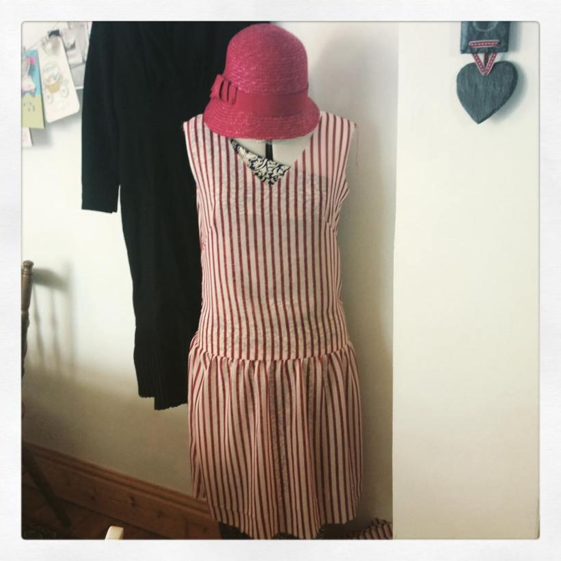 1920s homemade dress