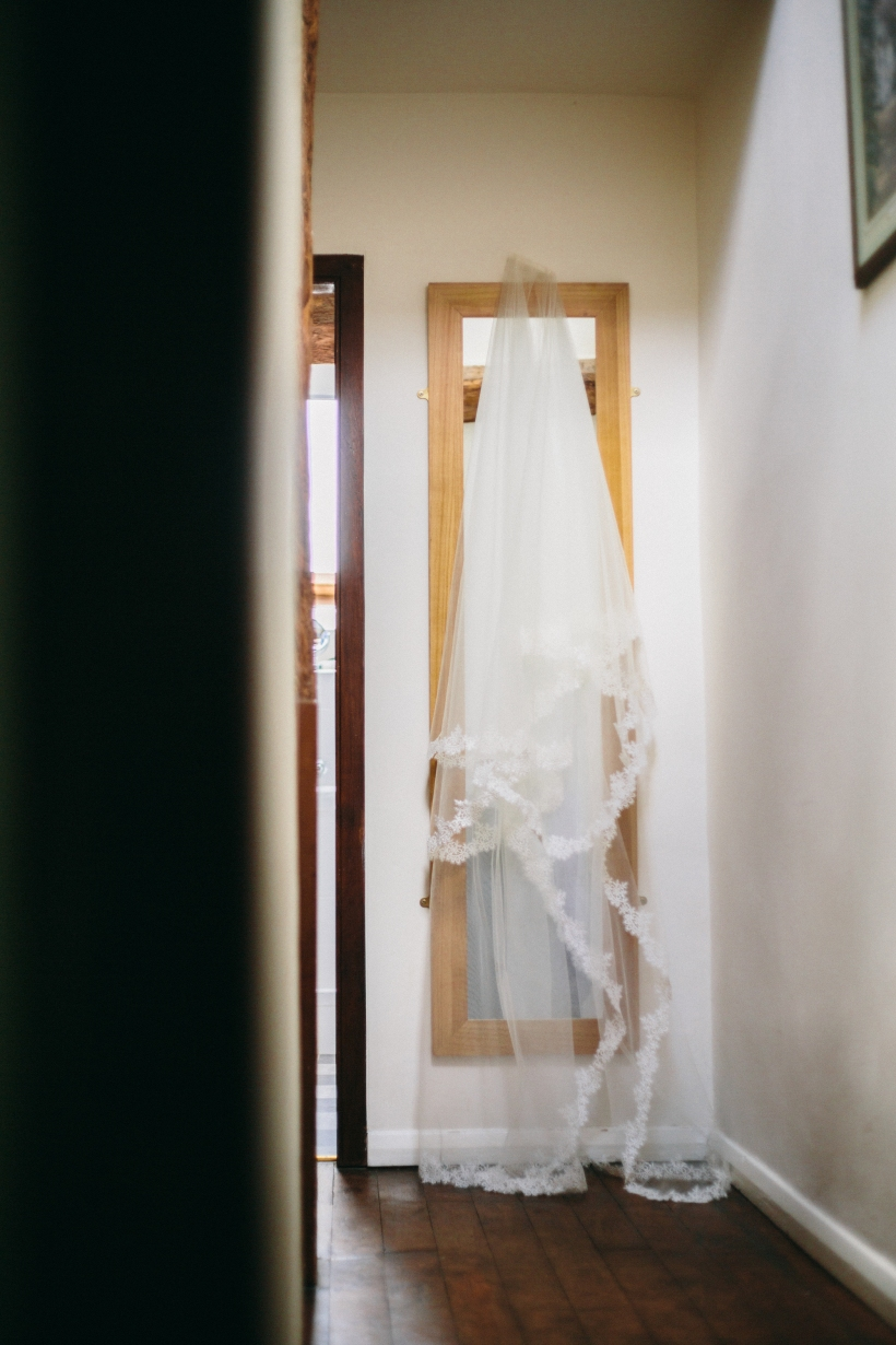 handmade veil
